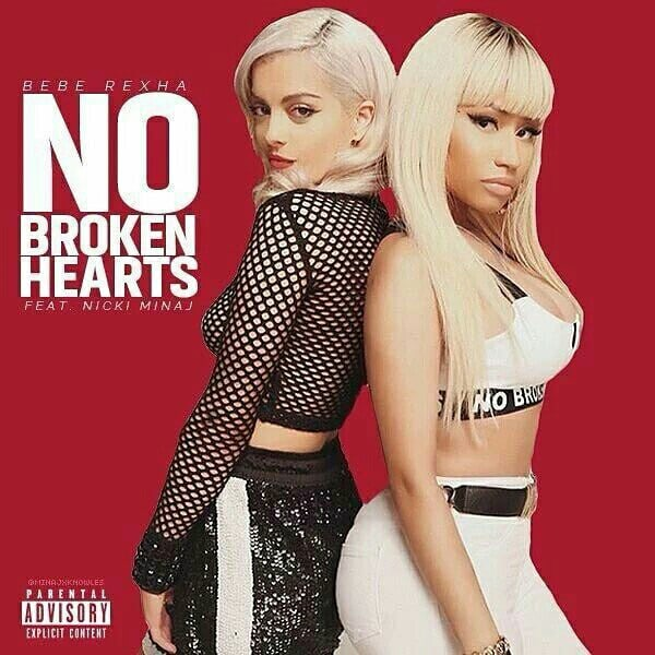 Bebe Rexha - No Broken Hearts ft. Nicki Minaj