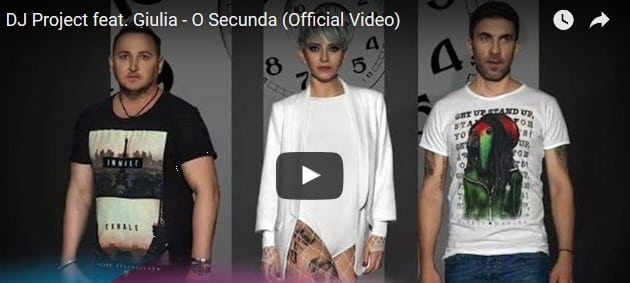 DJ Project feat. Giulia - O Secunda Download mp3